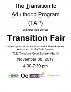 Transition Service Fair Flyer