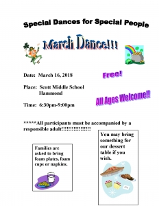 March Special Peoples Dance