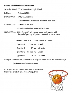 Sammy Balicki Basketball Tournament