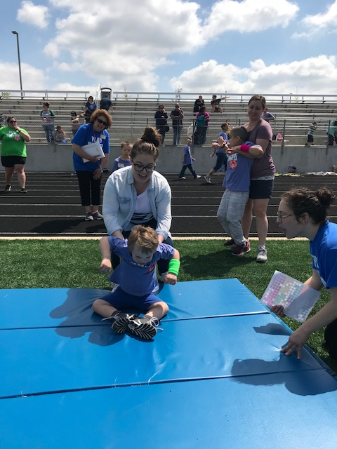 1st annual Unified Sports Day.