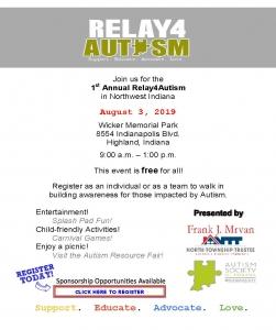 Relay 4 Autism Flyer