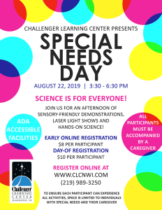Special Needs Day Flyer