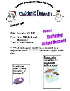 December Dance Flyer