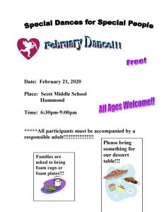 February Dance Flyer